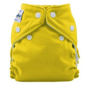 FuzziBunz Perfect Size Cloth Nappy - Extra Small 1.81-5.44kg - Mac N Cheese...