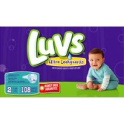 Luvs With Ultra Leakguards Big Pack Size 5 Nappies 80 Count