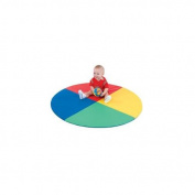 Children s Factory CF362-159 Four Colour Pie Mat