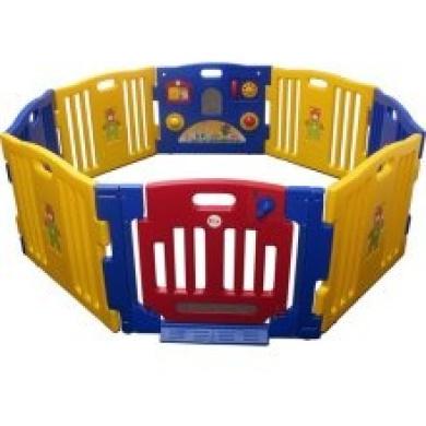 Sky Baby Playpen Kids 8 Panel Safety Play Centre Yard Home Indoor Outdoor