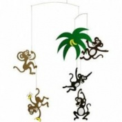 Flensted Mobiles Nursery Mobiles, Monkey Tree