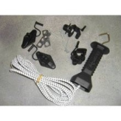 Dare Products Bungee Gate Kit White - 2950