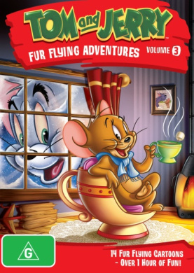 Tom and Jerry: Fur Flying Adventures - Volume 3