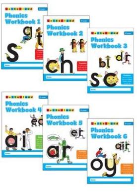 Phonics Workbooks (1-6)