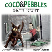 Coco and Pebbles: Bath Night