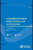 Evaluation of Certain Food Additives [Audio]