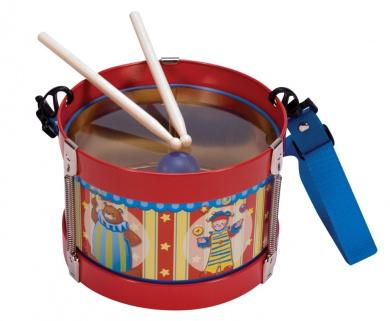 Silly Circus Tin Drum