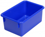 Steffy Wood Products Blue Tote Tray, 27.9cm by 20.3cm by 12.7cm