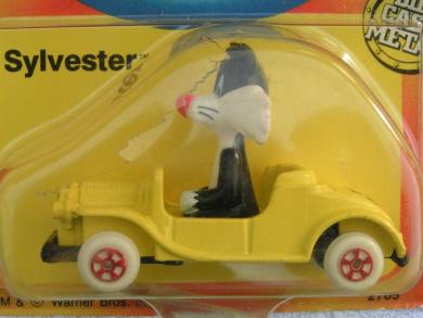 Looney Tunes Sylvester Die Cast Car