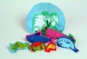 The Old Lady Who Swallowed The Sea Creatures Set Plush Doll Toy