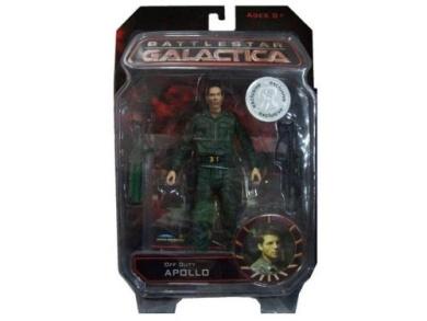 Battlestar Galactica Diamond Select Toys Exclusive Action Figure Off Duty Apollo