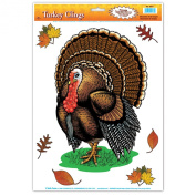 Turkey Cling (6 leaves included) Party Accessory  (1 count)