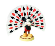 Wdcc Mickey Mouse Playing Card Plumage Figurine
