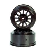 Rear Rulux Wheel, Black