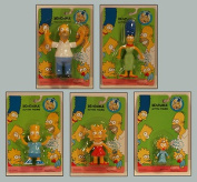 THE SIMPSONS 5 ACTION BENDABLE FIGURES