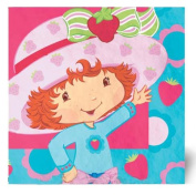 Strawberry Best Friends Luncheon Napkins - 16 Count