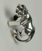 A Cute Little Kitty Cat Ear Cuff in Sterling Silver