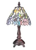 Meyda Tiffany 27294 Wisteria Mini Lamp, Stained