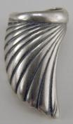 Sterling Silver Swirl Wing Ear Cuff