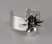 Sterling Silver Spider Ear Cuff