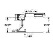 HO Multi-Purpose Coupler, 0.6cm Overset