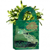 Camouflage Mini Tote Balloon Weight - 14cm . x 7.6cm . Each [Toy] [Toy]