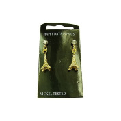 Souvenirs of France - 'Brilliants' Eiffel Tower Earrings - Material