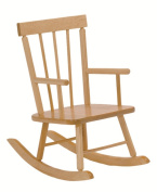 Steffy Wood Products Solid Maple Child's Rocker