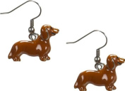 Ganz Faithful Companions Earring - Dog Breed Fashion Earrings - Dachshund