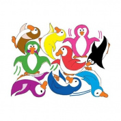 Penguins at Play Wall Decals / Stickers / Wall Decor