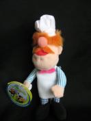 Starbucks Collector Puppet #16 Muppets Swedish Chef 13cm Plush Finger Puppet