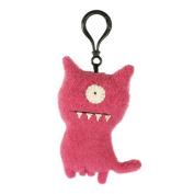 """Uglydoll Uglydog Pink Plush Keychain 4"""""""