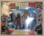 WWF SURVIVOR SERIES 4 PACK ACTION FIGURES