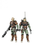 McFarlane Toys Halo Reach Series 3 UNSC Trooper Support Staff - Medic Trooper And Radio Trooper 2 Pack