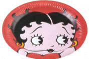 Betty Boop Party Lunch Plates 8ct - 23cm