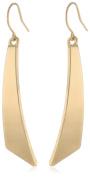 Kenneth Cole New York Shiny Gold Geometric Stick Linear Earrings