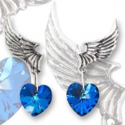 El Corazon (pair) Earring by Alchemy Gothic, England