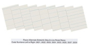 Pacon 2635 - Skip-A-Line Ruled Newsprint Paper, 14kg., 11 x 8-1/2, White, 500 Sheets/Pack-PAC2635