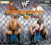 the ROCK & MANKIND - WWE WWF Wrestling Grudge Match 7.6cm Figures by Jakks Pacific