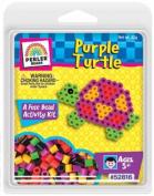 Perler Activity Trial Size Kits-Purple Turtle