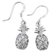 925 Silver Pineapple Dangle Earrings Hawaiian Silver Jewellery