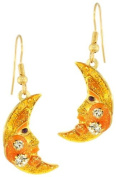 Lunch at The Ritz 2GO USA Moon Earrings