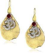 T.R.U. Jewellery Lake Arrowhead Casted Agate Organic Earrings