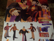 The Beatles Yellow Submarine George Harrison Action Figure with Yellow Submarine Toy by McFarlane Toys