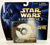 Star Wars - Episode 1 - Micro Machines - Trade Federation Battleship - #4 - Die Cast Metal - Galoob - Limited Edition - Collectible