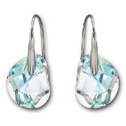 . Galet Light Azore Blue Pierced Earrings