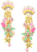 Lunch at The Ritz 2GO USA Shell Earrings Posts - Beach