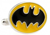1960's Retro Super Hero Batman Design Cufflinks Cuff Links