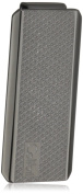 """Colibri Jewellery """"Ascari"""" Polished Black Stainless Steel Pachmayr Pattern Money Clip"""