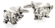 Pig shaped cufflinks with presentation box.